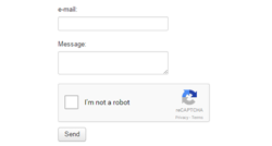 Simple Contact Form module