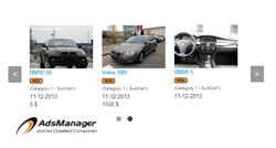 Owl Carousel ads of AdsManager module