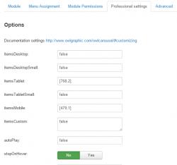 Owl Carousel of Joomla Articles module